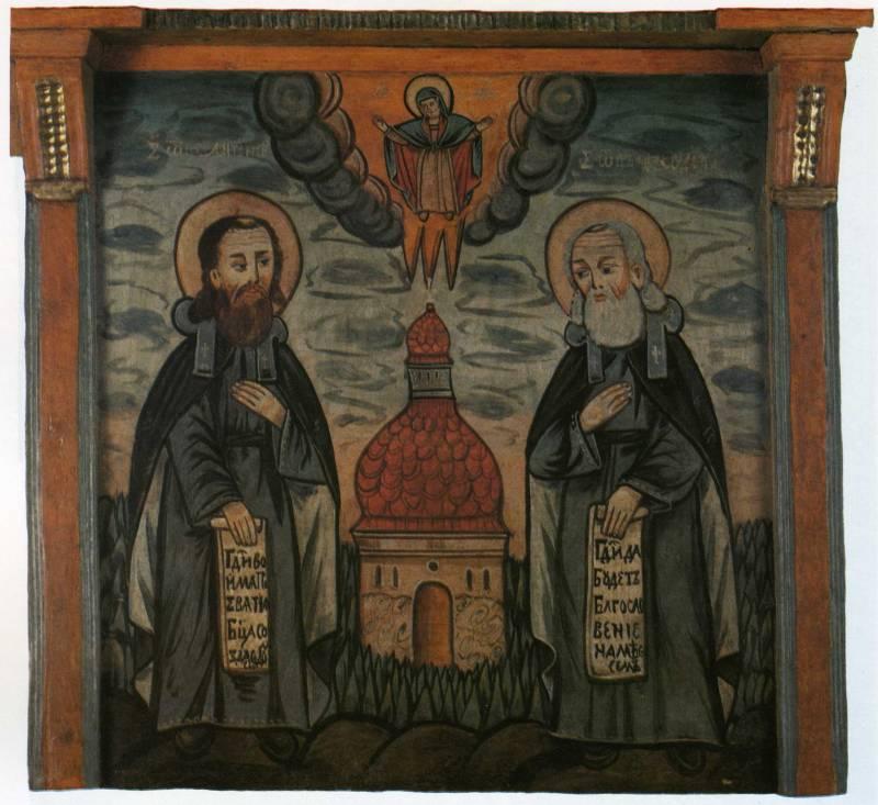 Святые Антоний и Феодосий Печерские