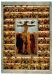 Распятие, с евангельскими сценами