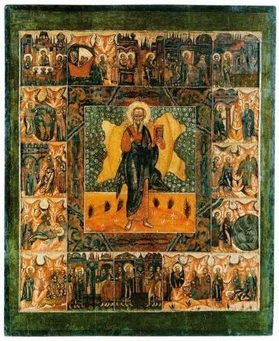 Апостол и евангелист Иоанн Богослов, с житием