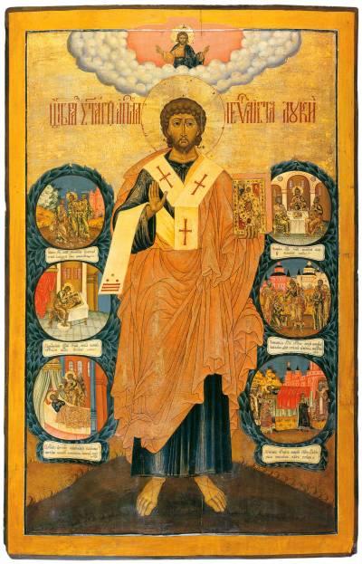 Апостол евангелист Лука, с житием