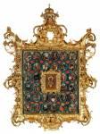 Святитель Николай Чудотворец, в раме с клеймами жития