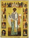 Святитель Климент, папа Римский, с житием