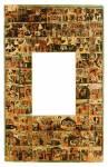 Рама к иконе святителя Власия Севастийского с клеймами жития