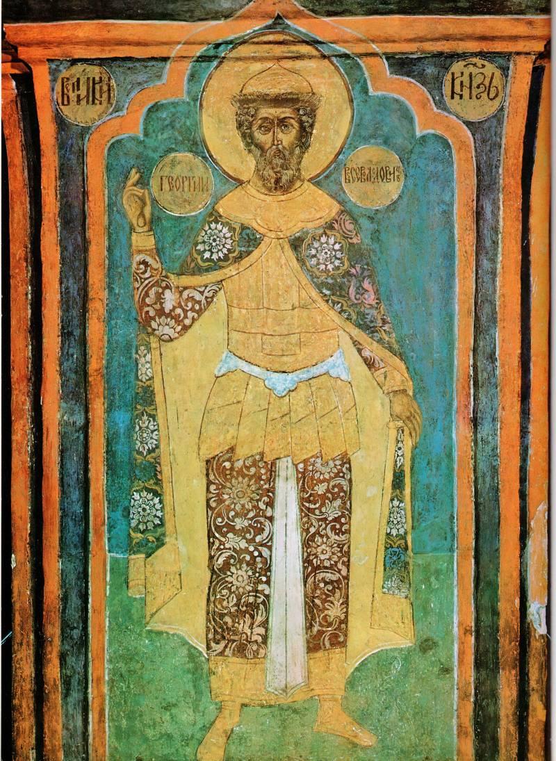 Святой князь Георгий Всеволодович