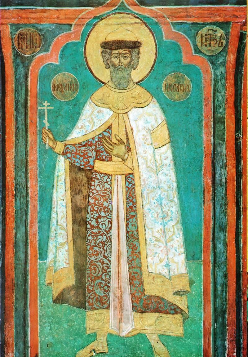 Святой князь Александр Ярославич Невский
