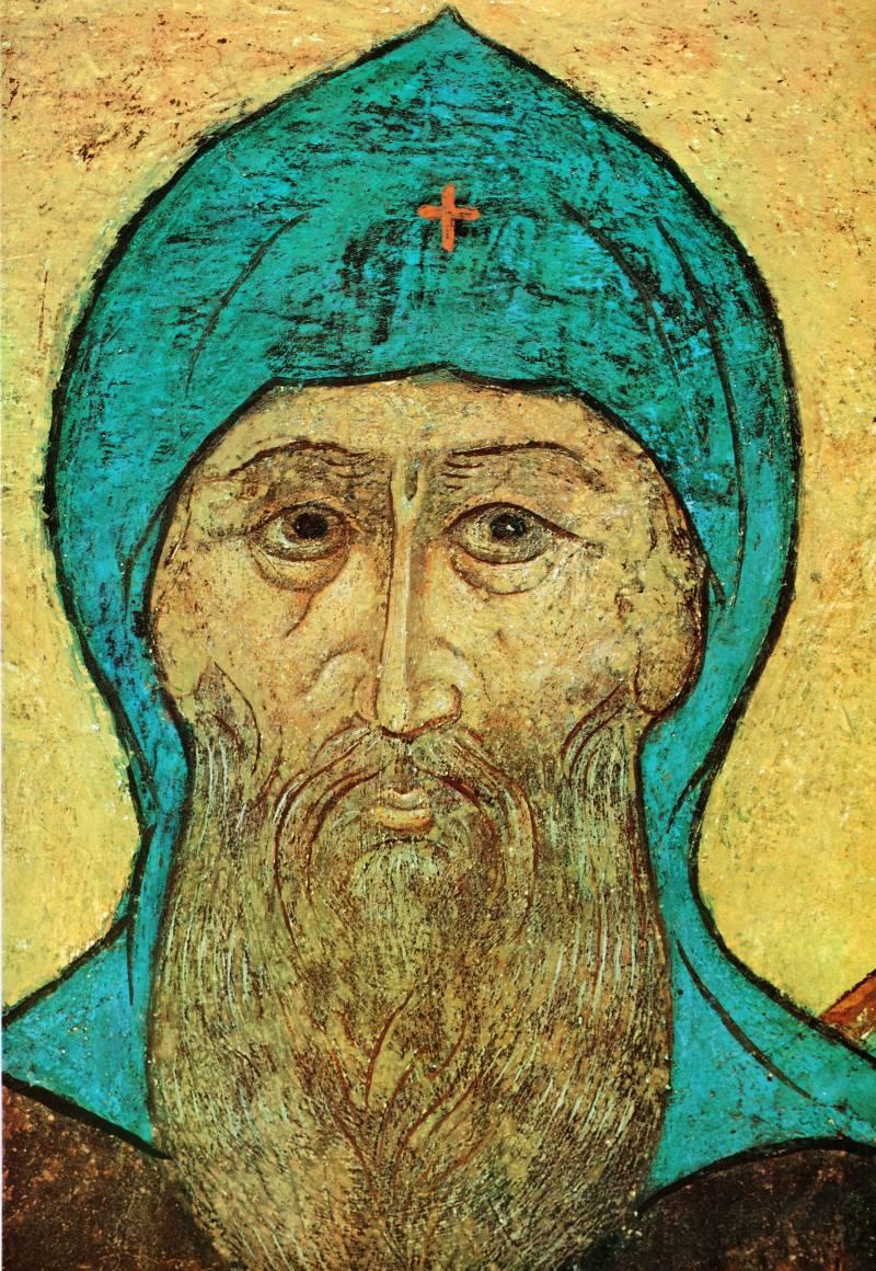 Лик святого князя Даниила