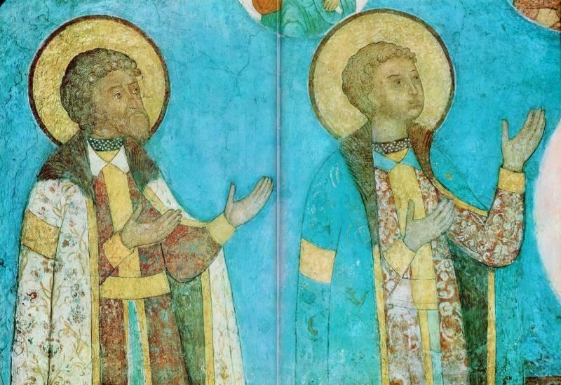 Князья Иван Владимирович и Ярослав (Афанасий) Владимирович