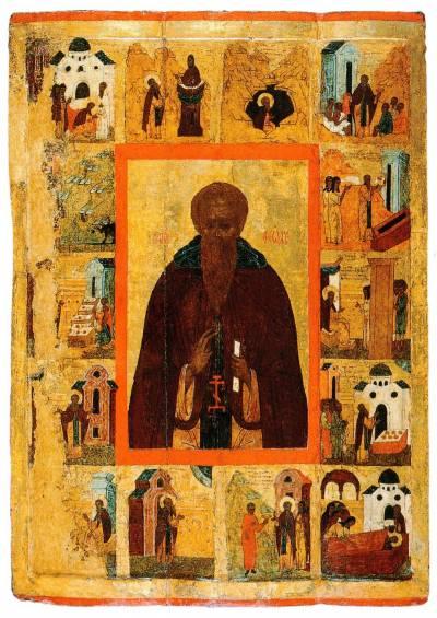 Преподобный Феодосий Великий, с житием