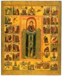 Преподобный Симеон Столпник, с житием