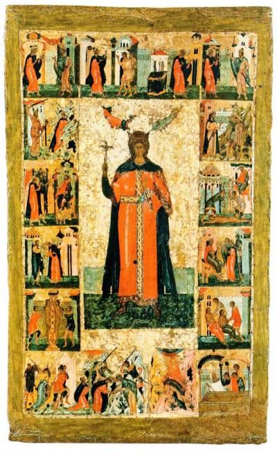 Великомученица Варвара, с житием