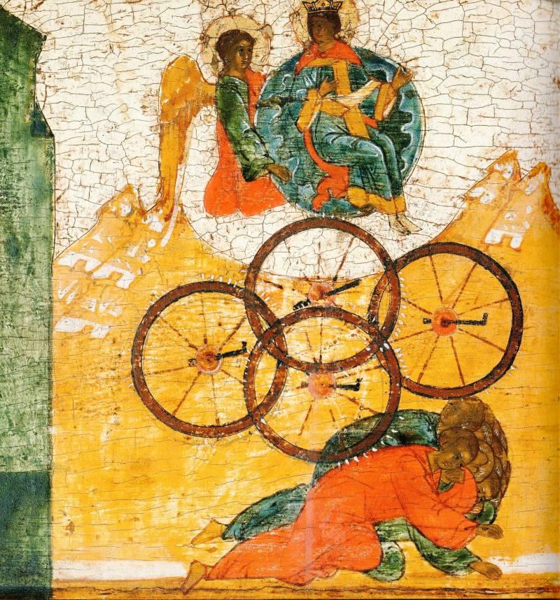 Избавление св. Екатерины от мучения колесованием