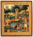 Святой царевич Димитрий Угличский и Московский, со сценами жития