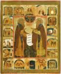 Преподобные Зосима и Савватий Соловецкие, с житием