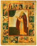 Преподобный Антоний Сийский, с житием