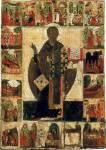 Святитель Николай Чудотворец, с житием («Никола Вяжищский»)