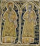 Святые Сильвестр I, папа Римский, и Иаков Алфеев