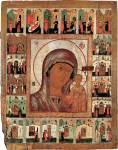 Казанская икона Богоматери, с чудесами