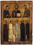 Деисус и предстоящие святые