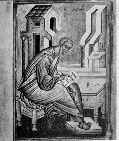 Евангелист Матфей - Евангелие [Q.I.14],