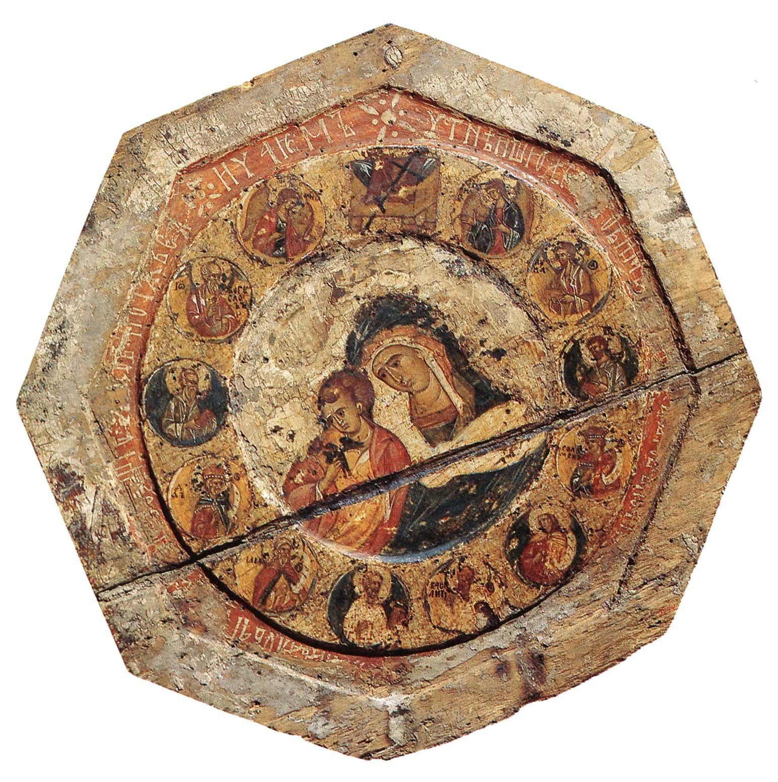Богоматерь типа Коневской (Голубицкой) и святые