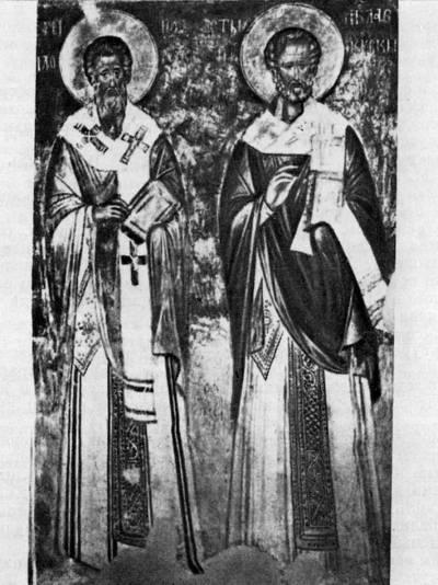 Святые Иоанн Милостивый и Николай Чудотворец