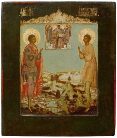 Мученик Уар и праведный Артемий Веркольский