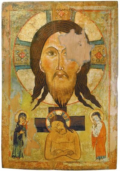 Спас Нерукотворный. Христос во гробе