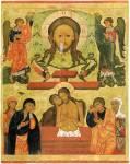Спас Нерукотворный. Христос во гробе («Не рыдай Мене, Мати»)