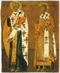 Святители Николай Чудотворец и Иоанн Златоуст