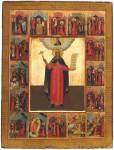 Святая Екатерина, с житием в 16 клеймах