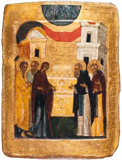 Явление Богоматери преподобному Сергию Радонежскому