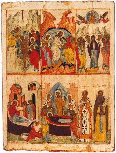 Праздники и избранные святые