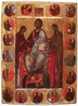 Деисус с Этимасией и святыми