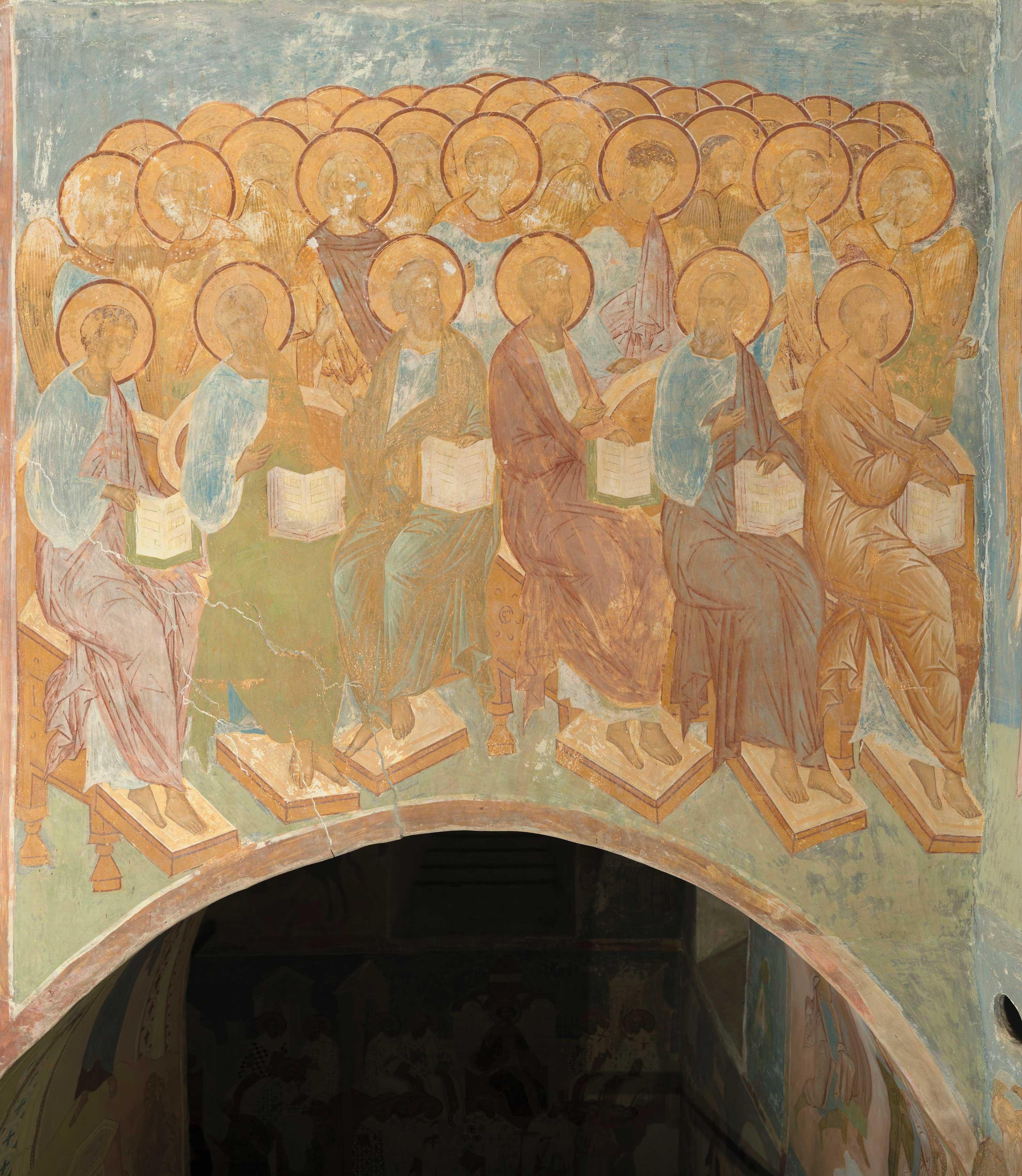 Страшный суд: апостолы и ангелы