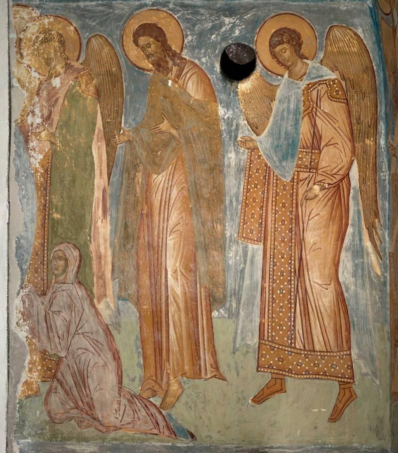 Ангел, Иоанн Предтеча, архангел Гавриил, Ева