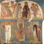 Страшный суд: Лоно Авраамово. Богоматерь в раю. Шествие праведных в рай