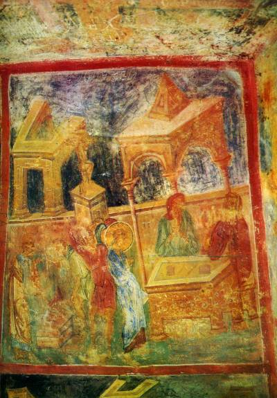 Христос перед Каиафой. Отречение апостола Петра