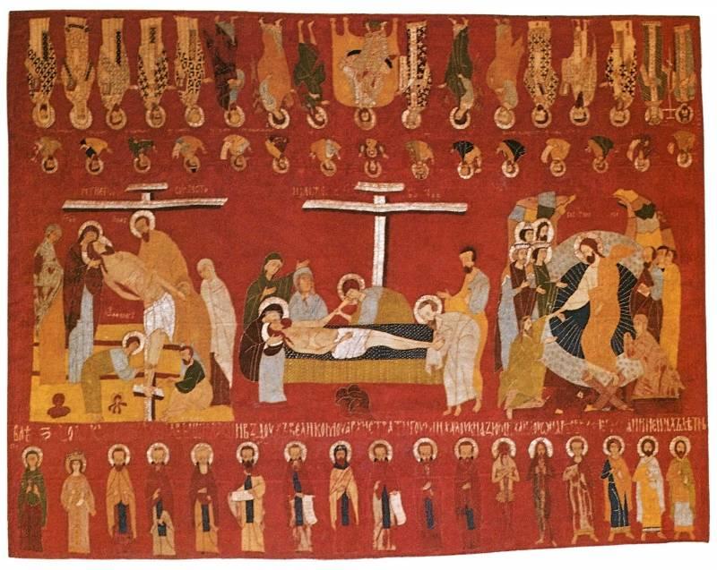 Снятие со Креста. Положение во гроб. Сошествие во ад