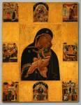 Богоматерь Умиление, с праздниками в восьми клеймах