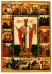 Святитель Стефан Пермский, с житием в 16 клеймах
