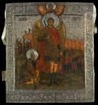 Явление Архангела Михаила Иисусу Навину, с Чудом в Хонех