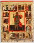 Великомученик Никита, с клеймами жития