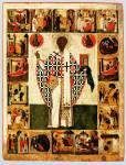 Святитель Николай Чудотворец (Зарайский), с клеймами жития