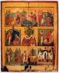 Святитель Николай Чудотворец, с клеймами жития