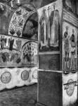 Роспись южной стены под хорами Благовещенского собора