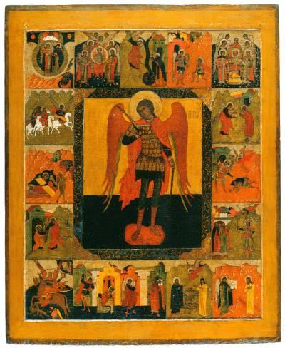 Архангел Михаил, с деяниями