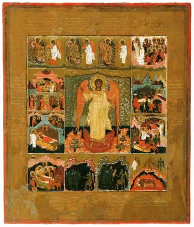Ангел-Хранитель, с ангельскими деяниями