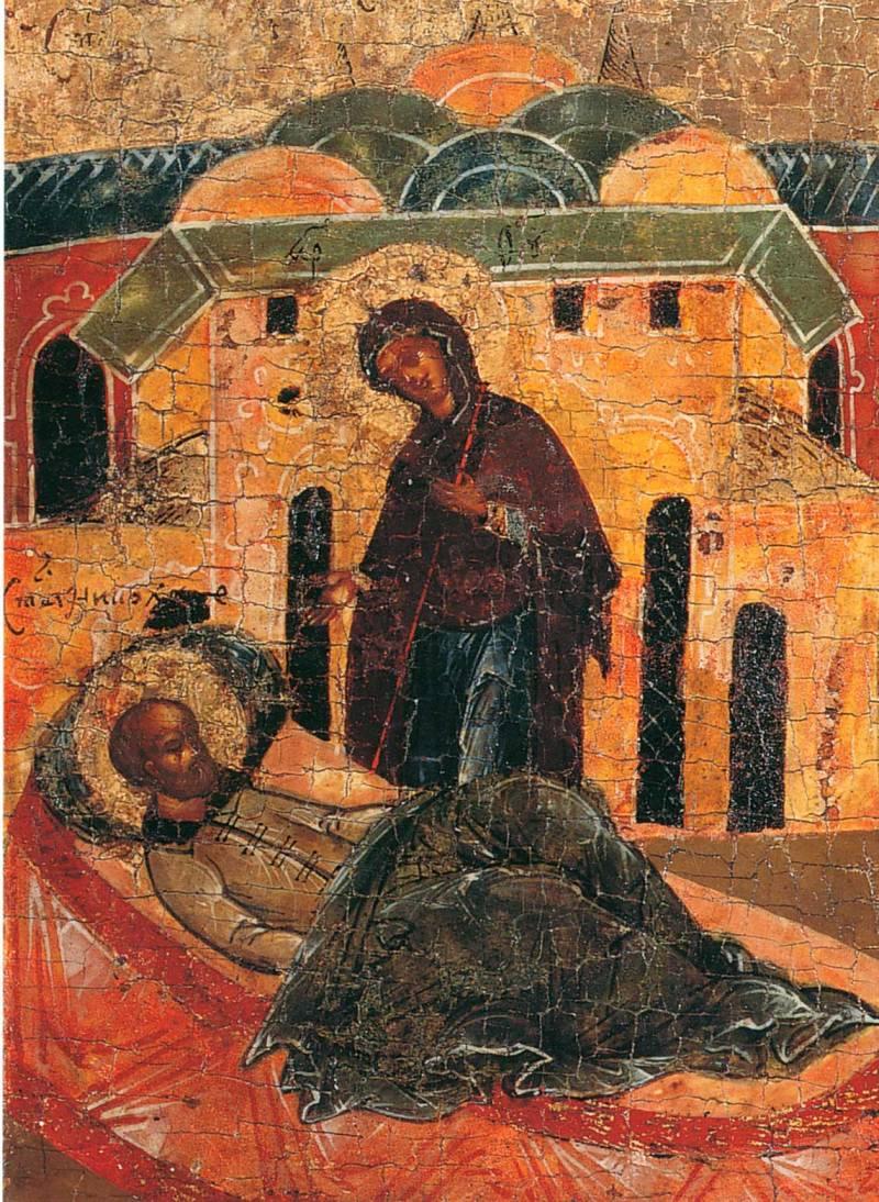 Явление Богоматери св. Николаю во сне