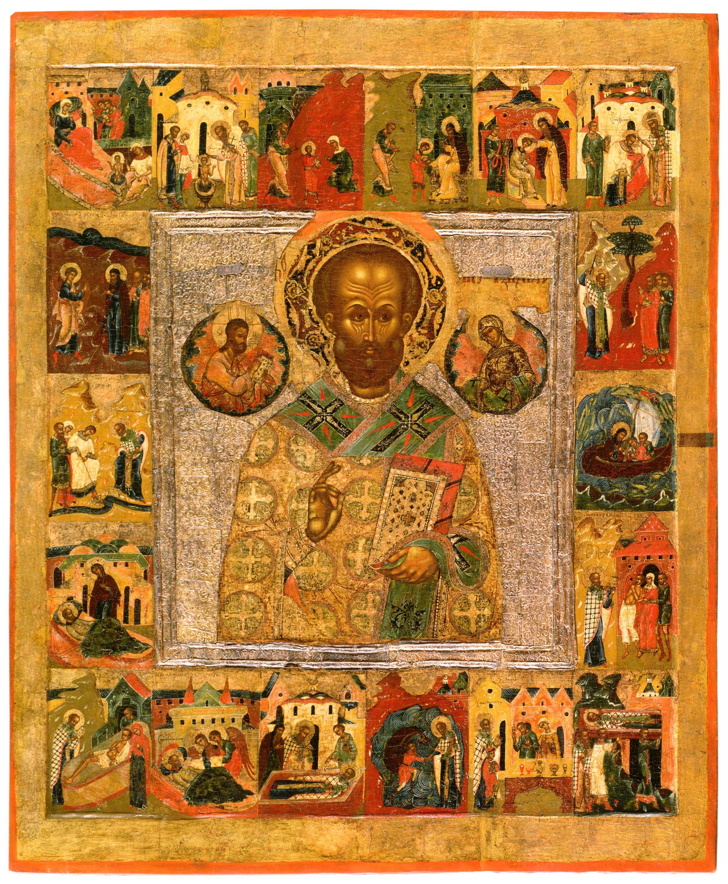 Святитель Николай Чудотворец, с житием