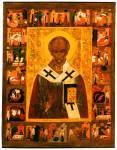 Святитель Николай Чудотворец, с житием в 20 клеймах